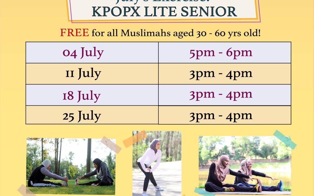 Badan Cergas, Minda Cerdas @ Assyakirin Mosque – July 2019