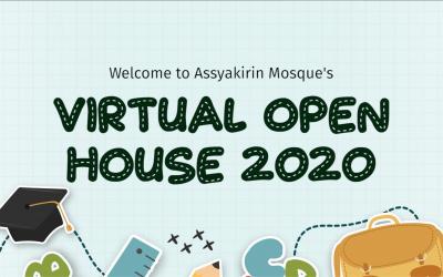 Assyakirin Mosque's Virtual Open House 2020